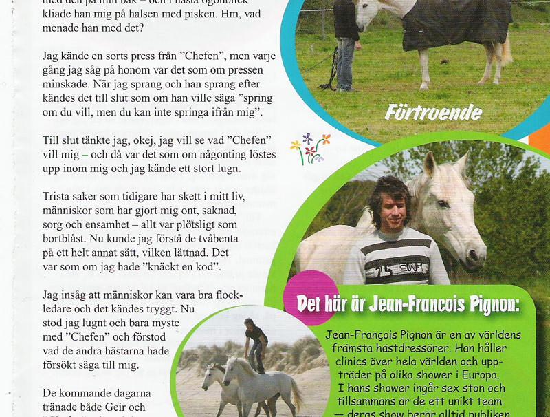 Presse suédoise - Jean-François Pignon