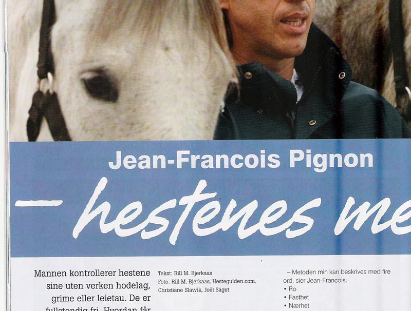 Presse norvégienne - Jean-François Pignon