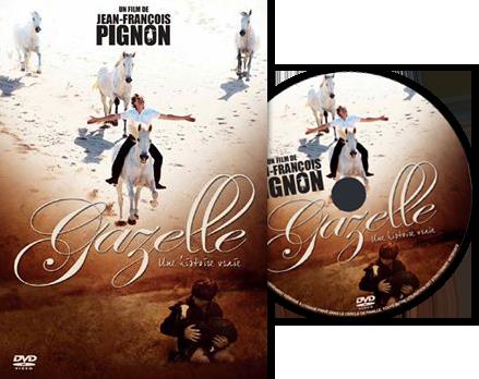 DVD du film Gazelle de Jean-François Pignon